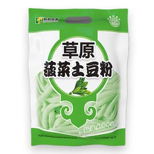 菠菜土豆粉